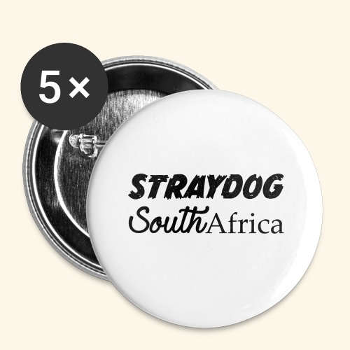 straydog clothing - Buttons small 1'' (5-pack)