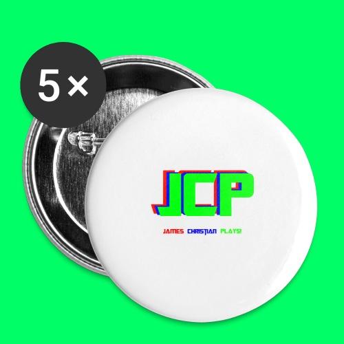 James Christian Plays! Original Set - Buttons small 1'' (5-pack)