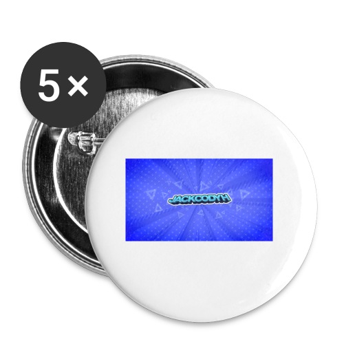 JackCodyH logo - Buttons small 1'' (5-pack)