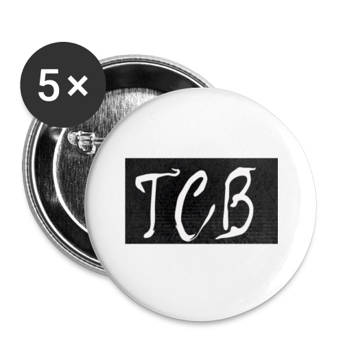 The Crazy Bros flag - Buttons small 1'' (5-pack)