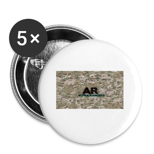 Alpha Ranger Apperal - Buttons small 1'' (5-pack)