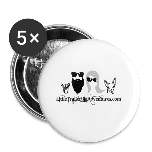 LTBA Heads Logo - Buttons small 1'' (5-pack)