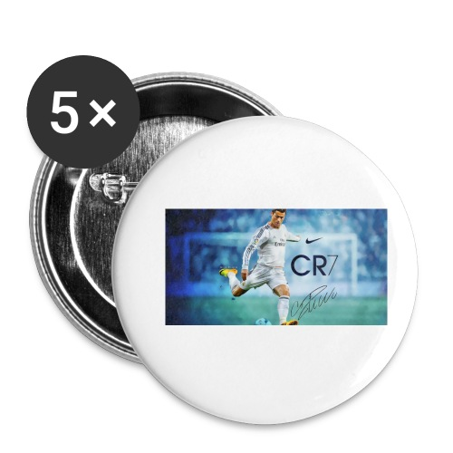 Real Madrid star Cristiano Ronaldo will open his C - Small Buttons
