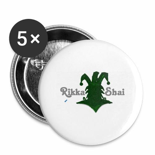 Rikka Shai LOCO LOGO - Buttons small 1'' (5-pack)