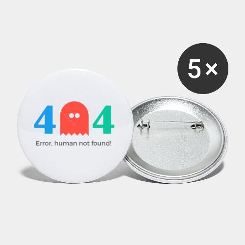 error - Buttons small 1'' (5-pack)