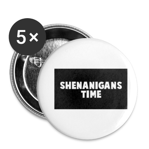 SHENANIGANS TIME MERCH - Buttons small 1'' (5-pack)