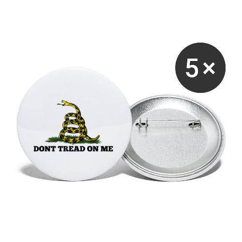GADSDEN 1 COLOR - Buttons small 1'' (5-pack)