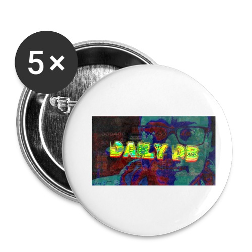 The DailyDB - Buttons small 1'' (5-pack)