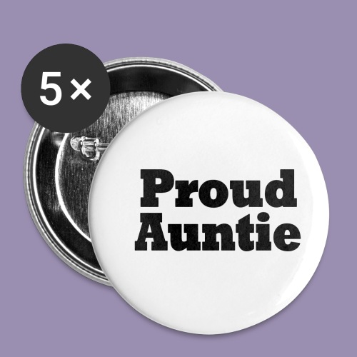 Proud Auntie - Buttons small 1'' (5-pack)