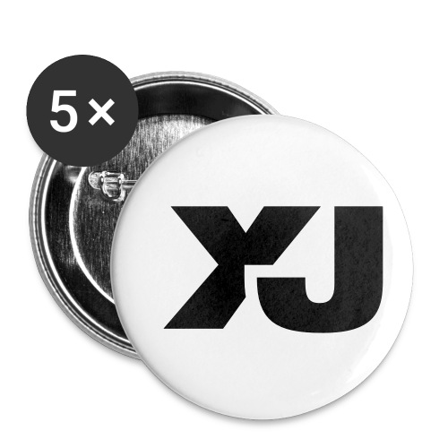Jeep Cherokee XJ - Buttons small 1'' (5-pack)