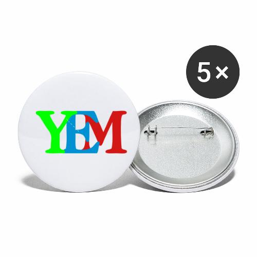 YEMpolo - Buttons small 1'' (5-pack)