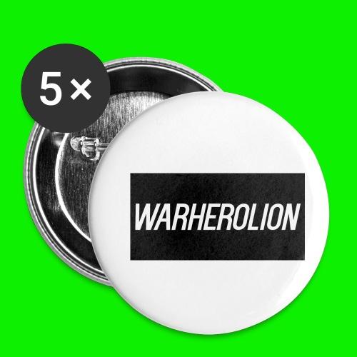 Warherolion iPhone 6/6S phone case Warherolion - Buttons small 1'' (5-pack)