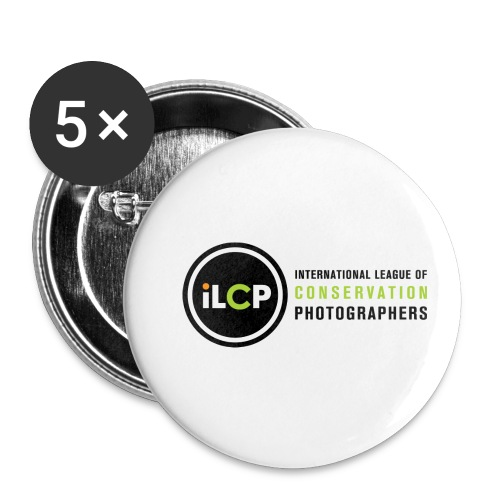 iLCP logo horizontal RGB png - Buttons small 1'' (5-pack)