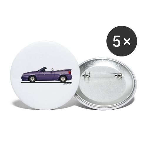 Corrado G60 Zender Cabrio Convertible Conversion - Buttons small 1'' (5-pack)