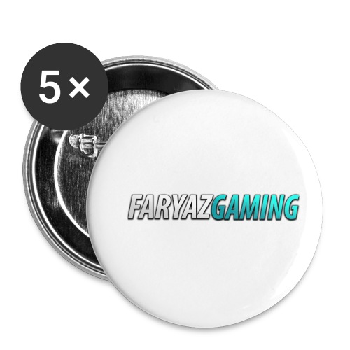 FaryazGaming Theme Text - Buttons small 1'' (5-pack)