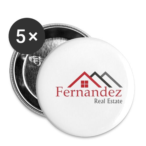 Fernandez Real Estate - Buttons small 1'' (5-pack)