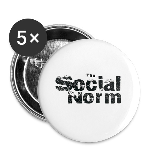 The Social Norm Official Merch - Buttons small 1'' (5-pack)