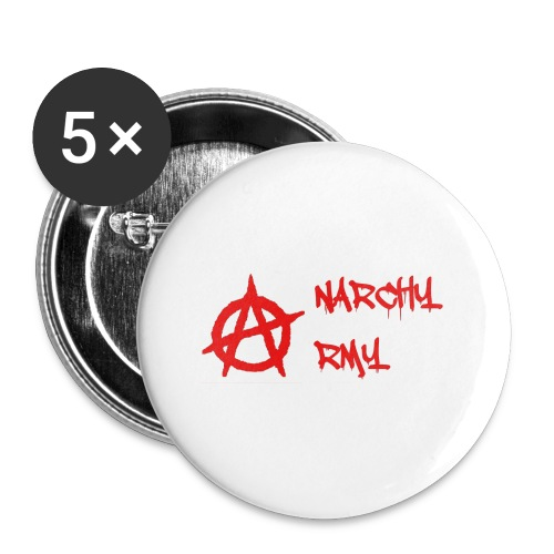 Anarchy Army LOGO - Buttons small 1'' (5-pack)