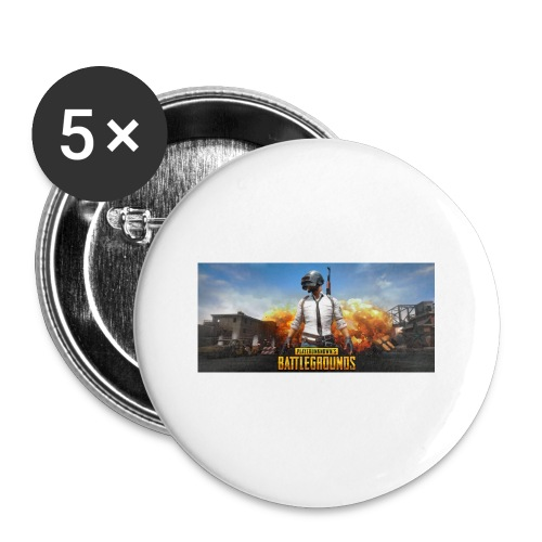 pubg 1 - Buttons small 1'' (5-pack)