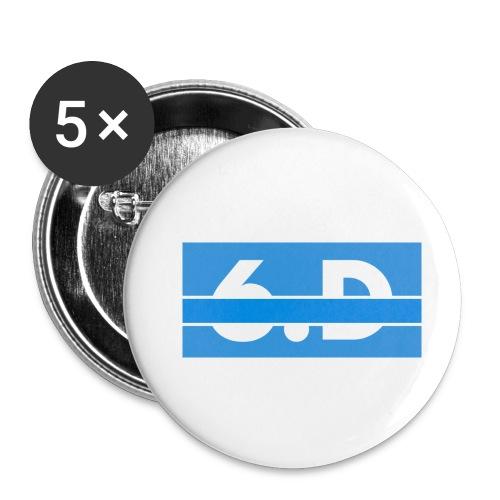 6.D logo - Small Buttons