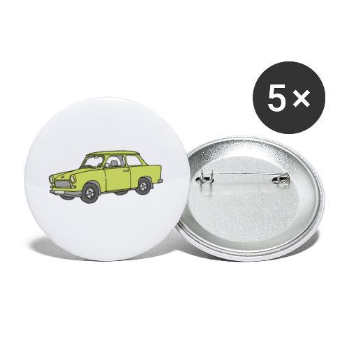 Trabant (baligreen car) - Buttons small 1'' (5-pack)