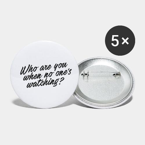 who - Buttons small 1'' (5-pack)