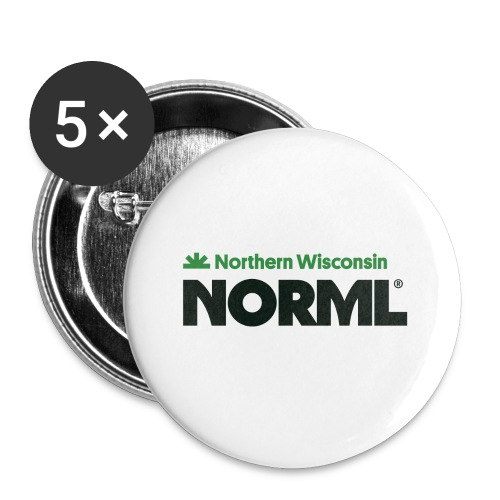 Northern Wisconsin NORML - Buttons small 1'' (5-pack)