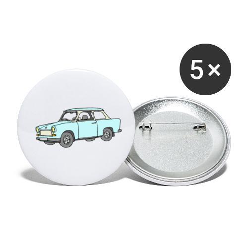 Trabant (lightblue) - Buttons small 1'' (5-pack)