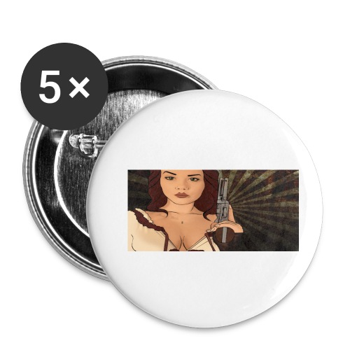 jjj copy png - Buttons small 1'' (5-pack)