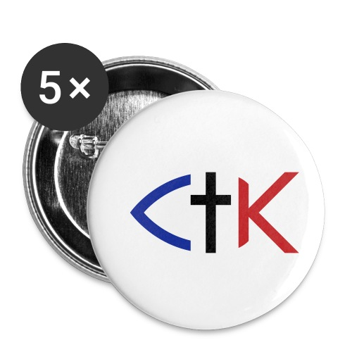 ctkfishsvg - Buttons small 1'' (5-pack)