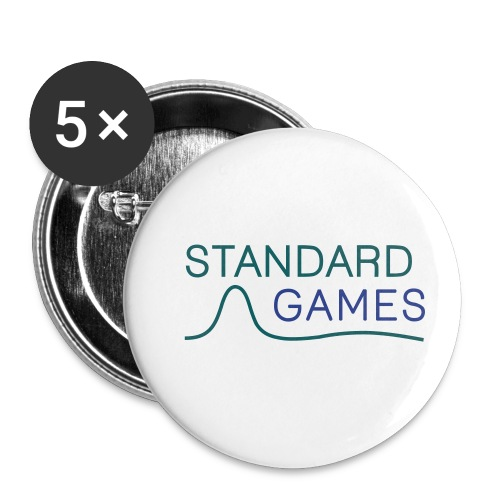 standardgames-logo-hat - Buttons small 1'' (5-pack)