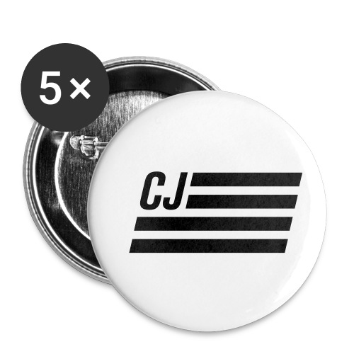 CJ flag - Autonaut.com - Buttons small 1'' (5-pack)