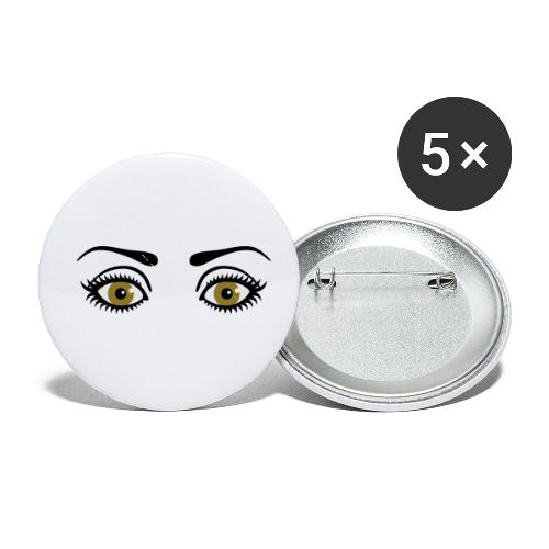 Eyes Wide Open - Buttons small 1'' (5-pack)