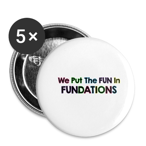 fundations png - Buttons small 1'' (5-pack)