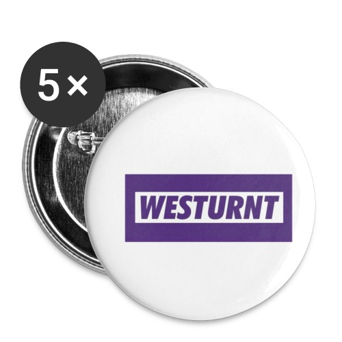 Westurnt - Buttons small 1'' (5-pack)
