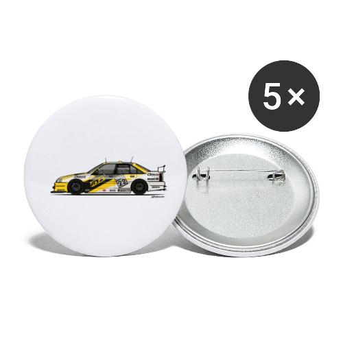 Opel Omega A Irmscher Evo 500 ATS DTM Touring Car - Buttons small 1'' (5-pack)