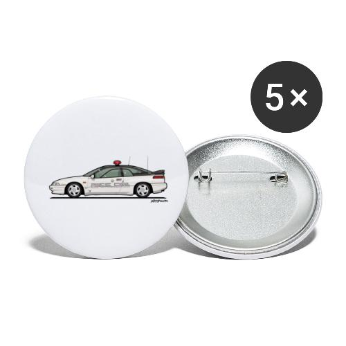 Alcyone SVX Kenkyo Subaru Test Center - Buttons small 1'' (5-pack)