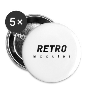 Retro Modules - sans frame - Small Buttons