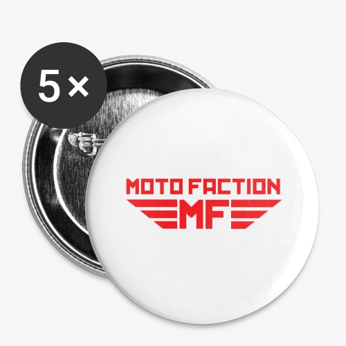 MotoFaction Logo - Buttons small 1'' (5-pack)