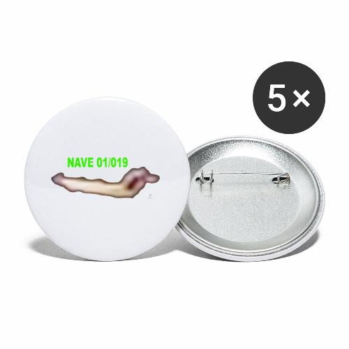 NAVE 01 019 - Buttons small 1'' (5-pack)