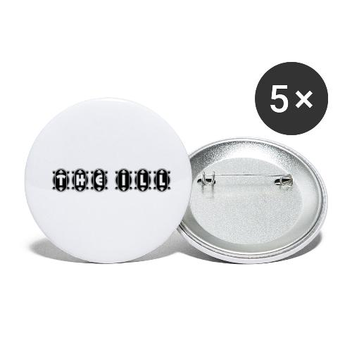 THE ILLennials - THE ILL - Buttons small 1'' (5-pack)