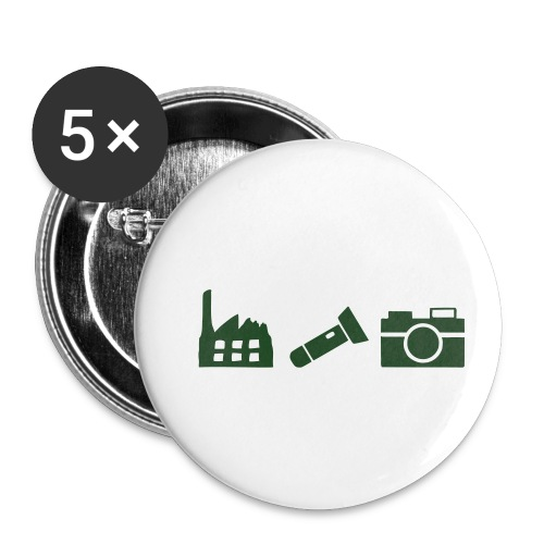 DCUE_Icons_Small - Buttons small 1'' (5-pack)