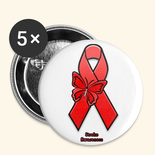 Stroke Awareness - Small Buttons