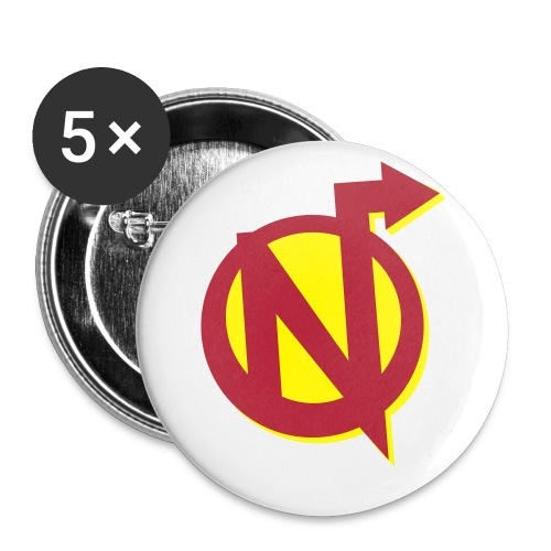SmallNerdarchyLogo - Buttons small 1'' (5-pack)