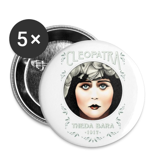 Theda Bara as Cleopatra (1917) - Buttons small 1'' (5-pack)