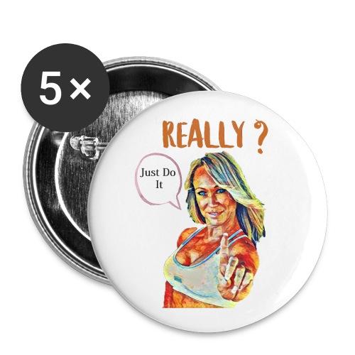 Melissa Zimmerman fan art - Buttons small 1'' (5-pack)