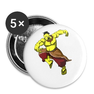 Yellow orc - Small Buttons