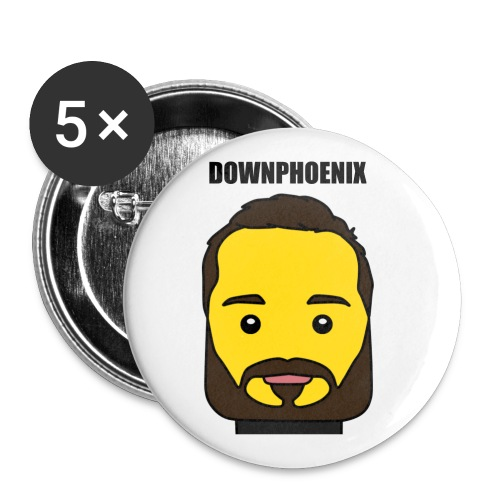 Downphoenix Face Mode - Buttons small 1'' (5-pack)