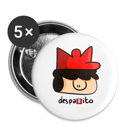 despabito - Buttons small 1'' (5-pack)