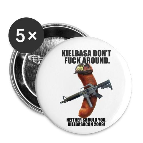 KielbasaCon 2009 - Buttons small 1'' (5-pack)